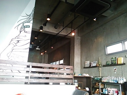 ジャムカフェ 店内 (2)