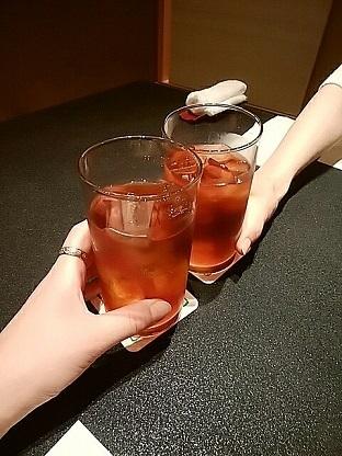 草津亭 乾杯