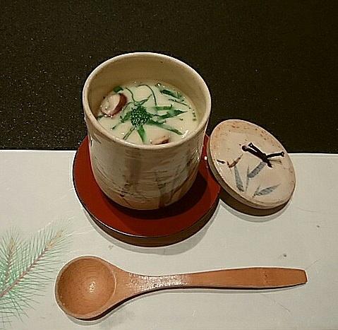 草津亭 茶碗蒸し (2)