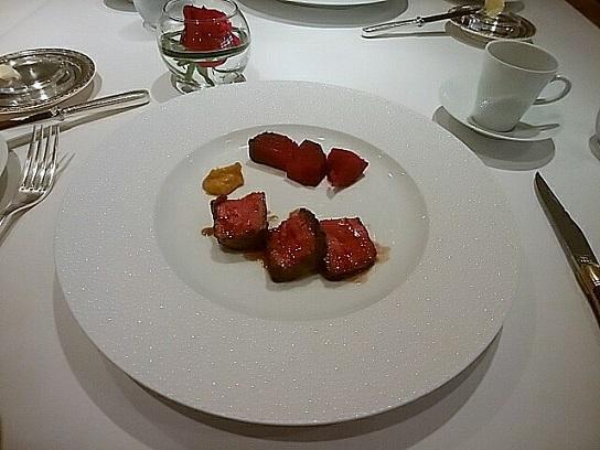 帝国ホテル レセゾン お肉