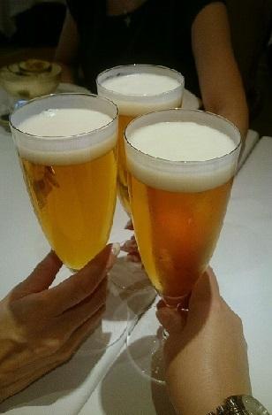帝国ホテル レセゾン 乾杯 (2)
