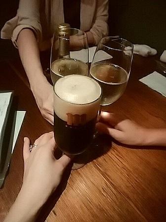 ミネバル 乾杯
