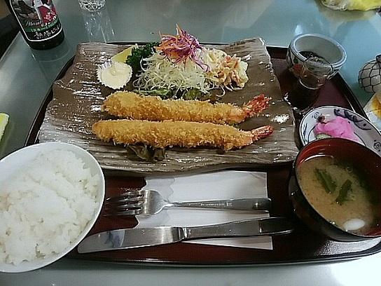 みやま エビフライ定食