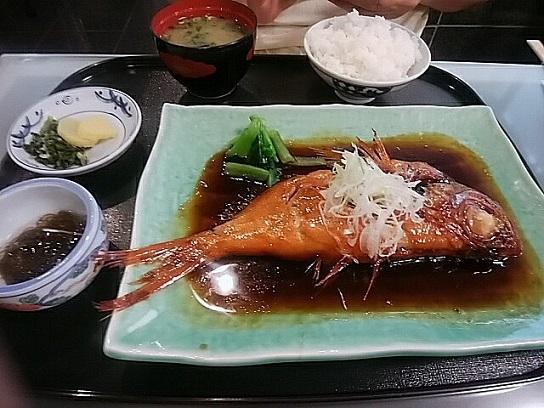 みやま キンメダイ定食