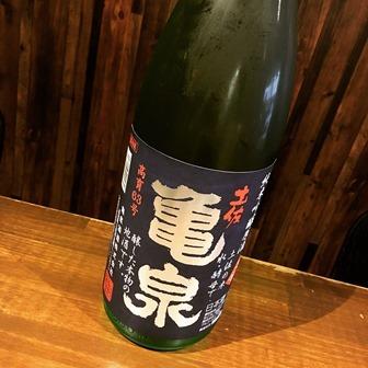 純米吟醸原酒 土佐 亀泉