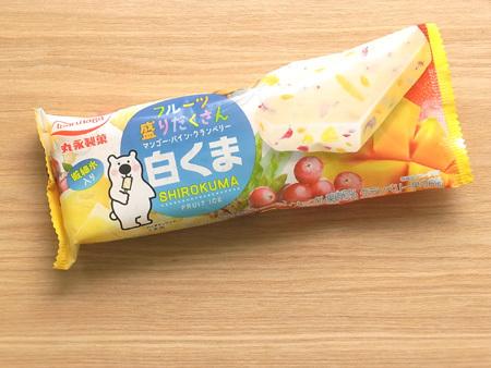 丸永製菓 フルーツ盛りだくさん白くま