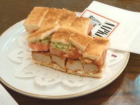 カツ野菜サンド CAFEサンドイッチ