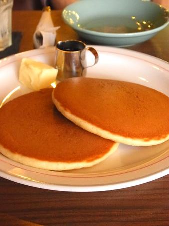 【喫茶東京】ホットケーキ