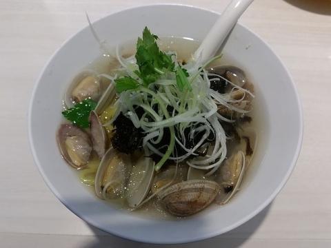魚べい東三条店・H29・4 あさりラーメン