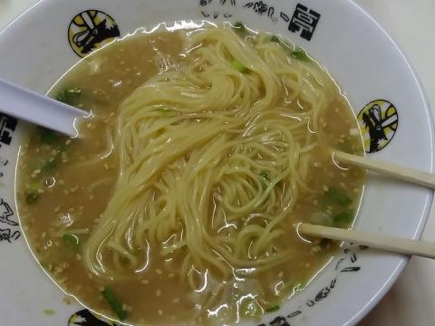 きんしゃい亭古町店・H28・6 らあめん 麺