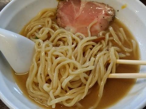 真登・H28・10 濃厚醤油ラーメン 麺