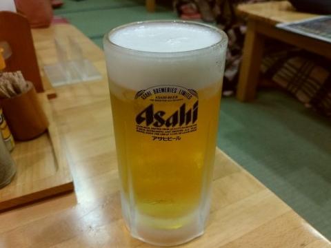 華鳳 華乃茶屋・H28・9 生ビール