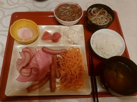 華鳳・H28・9 朝食