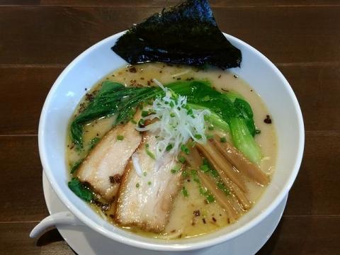 奥右衛門・H28・10 塩白湯麺