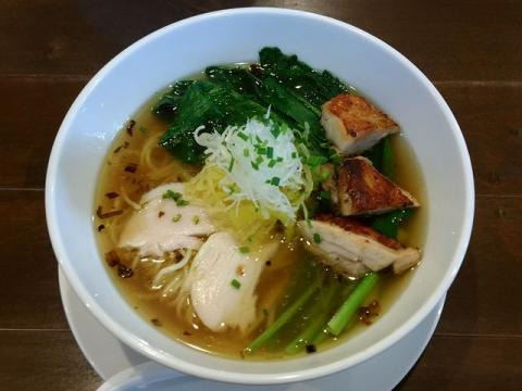 奥右衛門・H28・10 鶏塩麺