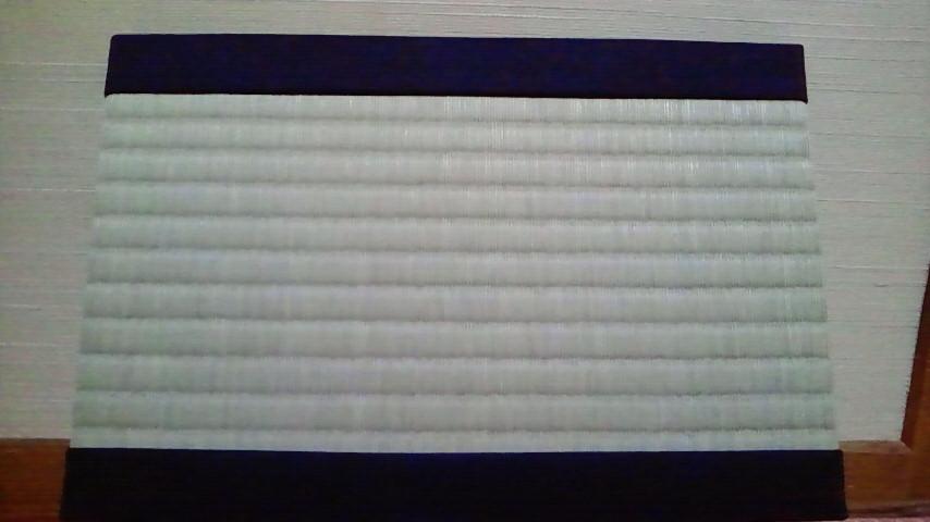 純綿畳縁と天然イグサ - 新潟市東区の畳屋、【岡村たたみ店】のブログ