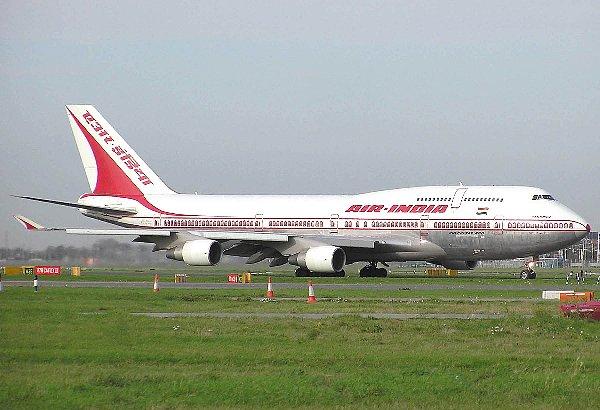 Airindia b747-400 onground