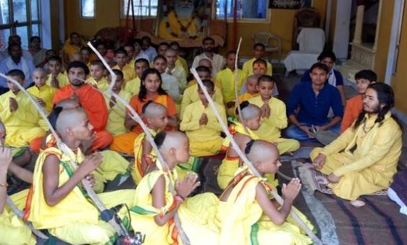 伝統的ヒンドゥ教の入門儀式
