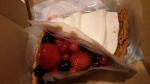 くるみのタルトと赤いフルーツのタルト2