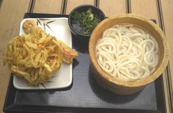 20170606 丸亀製麺 かまあげうどん 21㎝ DSC_0438