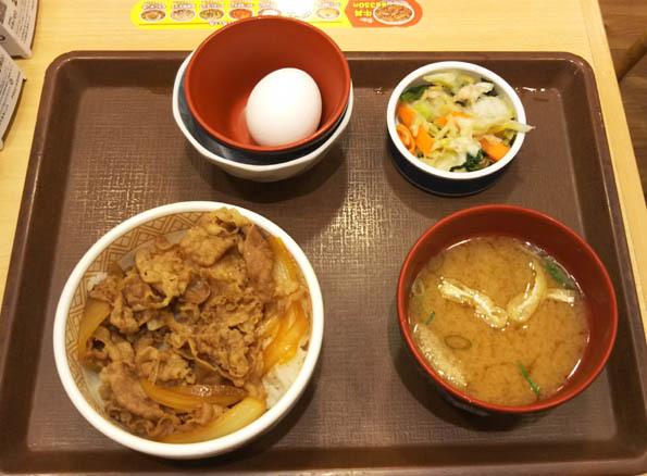 20170617 すき家 ミニ牛丼 21㎝ DSC_0468