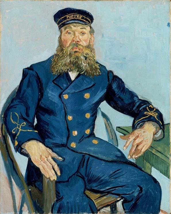 201708 Boston フィンセント・ファン・ゴッホ『郵便配達人 ジョゼフ・ルーラン』1888年 21cm 205247
