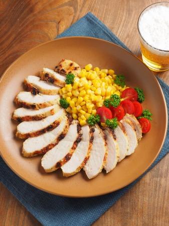 鶏むね肉のタバスコチーズ焼ン16