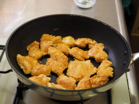 鶏むね肉の酢豚風06
