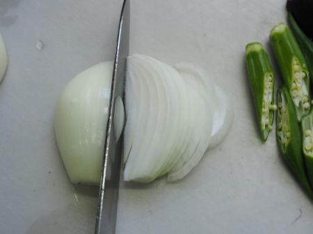 茄子とチキンのビーフンカレー30