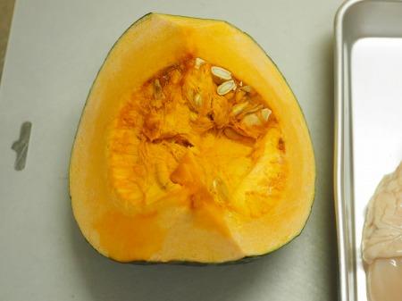 鶏むね肉とかぼちゃのカレーチ22