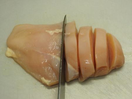 鶏むね肉とかぼちゃのカレーチ27