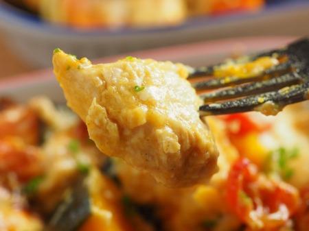 鶏むね肉とかぼちゃのカレーチ20