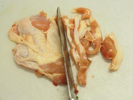 鶏もも肉とゴーヤーのテンメンャ017