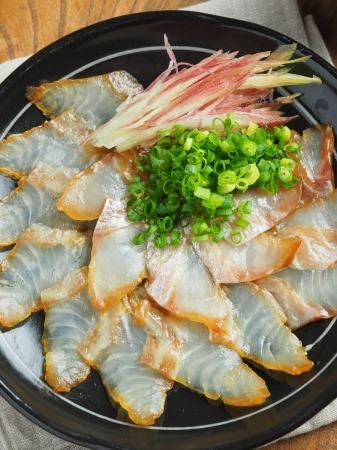 真鯛のしょう油漬け010