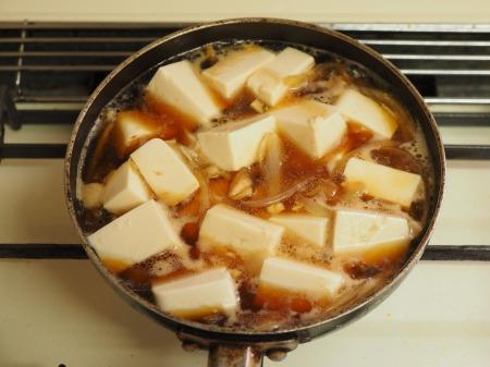 豆腐でカサ増し親子丼005