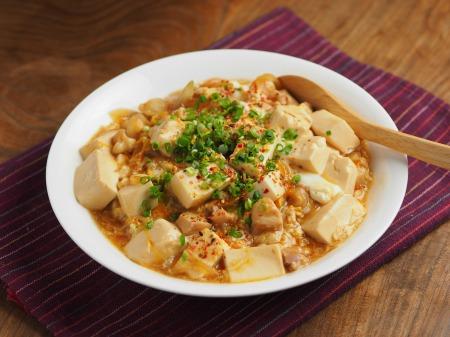 豆腐でカサ増し親子丼016