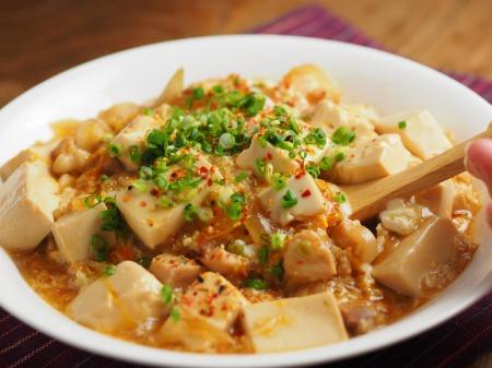 豆腐でカサ増し親子丼035