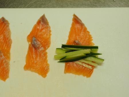 サーモン刺身の塩麹漬け033