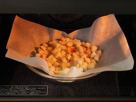コーンスープ、手作りクルトン018