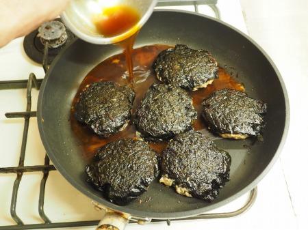 秋刀魚蒲焼きと鶏肉の磯辺039