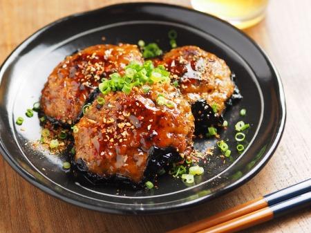 秋刀魚蒲焼きと鶏肉の磯辺007