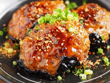 秋刀魚蒲焼きと鶏肉の磯辺011
