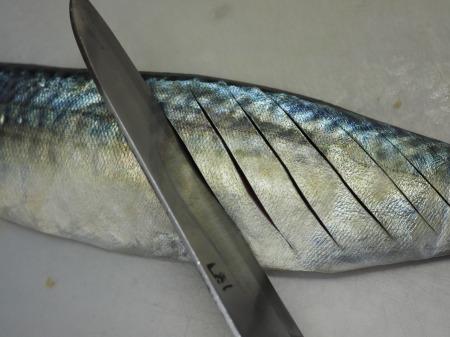 鯖のムニエル039