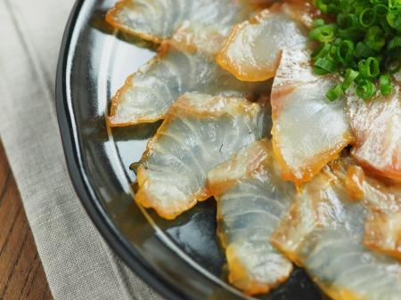 真鯛のしょう油漬け019