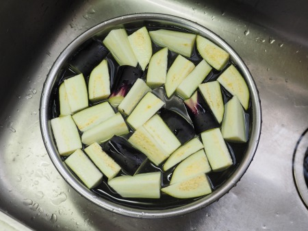 野菜たっぷり豚味噌炒め031