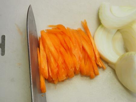 野菜たっぷり豚味噌炒め034