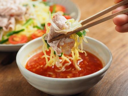 冷しゃぶトマトつけ麺016