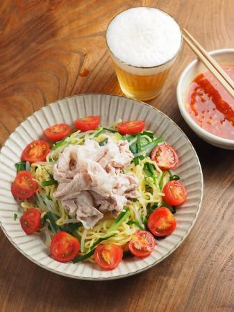 冷しゃぶトマトつけ麺010
