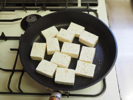豆腐と茄子の炒めカレー026