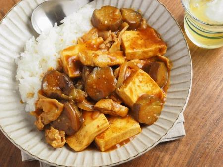 豆腐と茄子の炒めカレー020